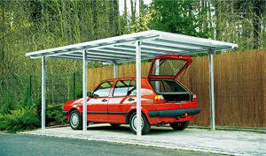Ideanature - Abri de voiture Carport-Ideanature-CARPRT 15m2 POUR VOITURE TRADITION