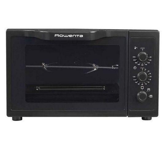 Rowenta - Four micro-ondes-Rowenta-Mini four Gourmet Tournebroche OC373830