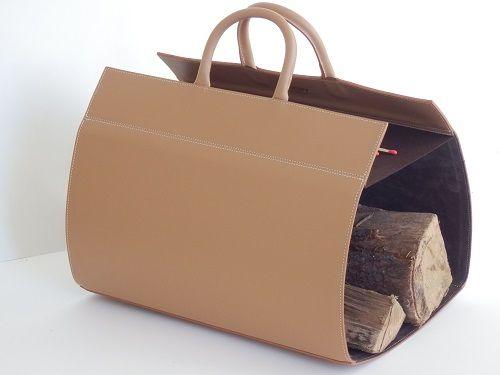 MIDIPY - Porte-buches-MIDIPY-en cuir caramel