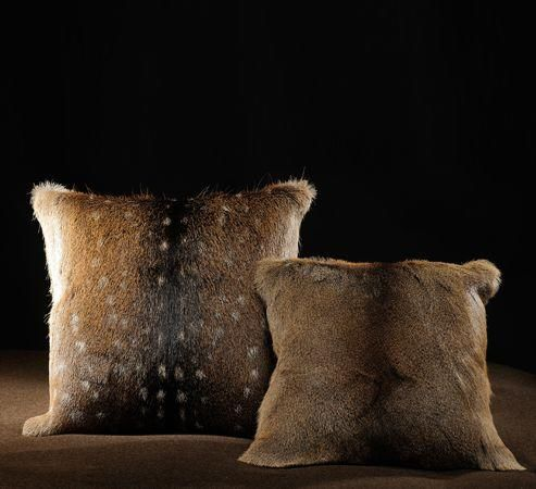 LODGE COLLECTION - Coussin carré-LODGE COLLECTION-Sologne Cerf