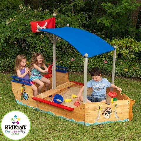 KidKraft - Bac à sable-KidKraft-Bac à sable bateau pirate
