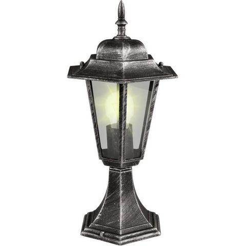 WHITE LABEL - Lanterne d'extérieur-WHITE LABEL-Lampe jardin lanterne sur pied exterieur