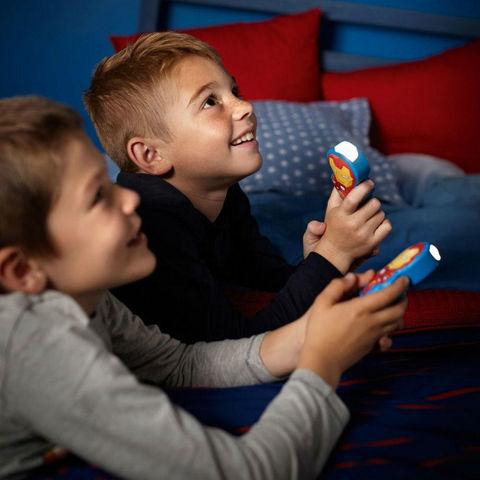 Philips - Veilleuse Enfant-Philips-DISNEY - Lampe torche à pile LED Iron Man H9,2cm |