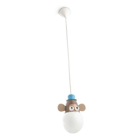 Philips - Suspension Enfant-Philips-MONKEY - Suspension Singe Ø15,5cm | Lustre et plaf