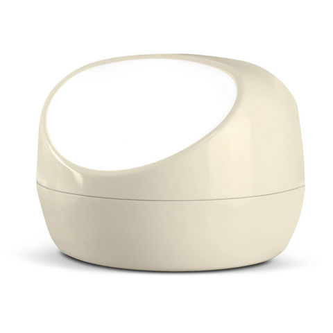VIVIDA - Lampe à poser-VIVIDA-STONELAMP - Lampe Gris Chaud | Lampe à poser Vivid