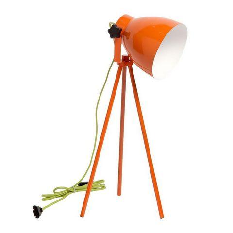REGENBOGEN - Lampe à poser-REGENBOGEN-Spot 3 pieds métal orange
