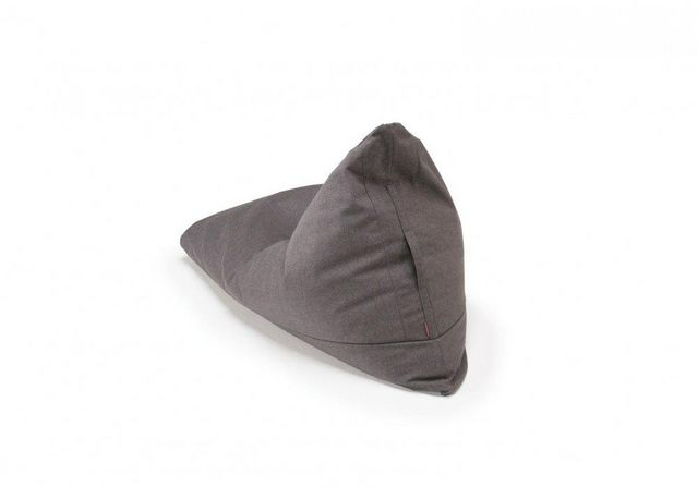 INNOVATION - Pouf poire-INNOVATION-INNOVATION pouf design SOFT PEAK gris dark grey