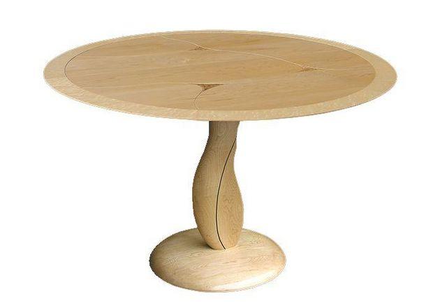 Creation Desmarchelier - Table de repas ronde-Creation Desmarchelier-SCARPA--