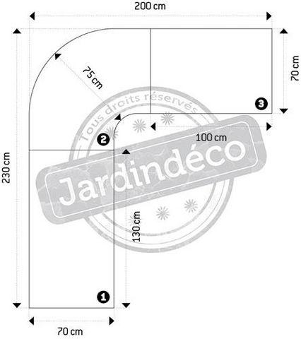 KOKOON DESIGN - Bureau d'angle-KOKOON DESIGN-Grand bureau design Kuvo