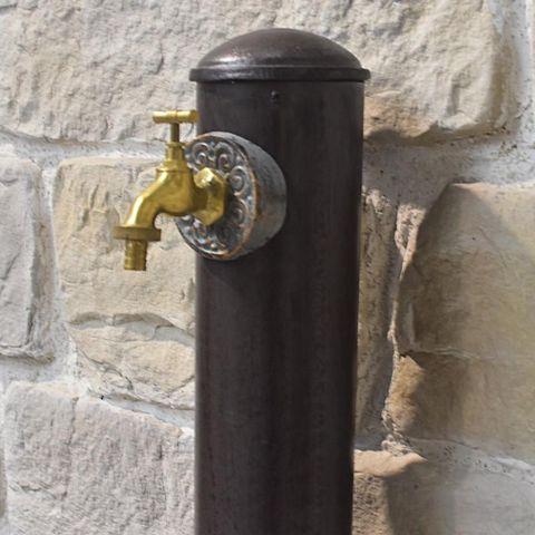 CHEMIN DE CAMPAGNE - Fontaine centrale d'extérieur-CHEMIN DE CAMPAGNE-Style Ancienne Fontaine Tube de Jardin Fonte d'Al