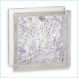 Rouviere Collection - Brique de verre-Rouviere Collection-brique de verre en épaisseur 5 cm