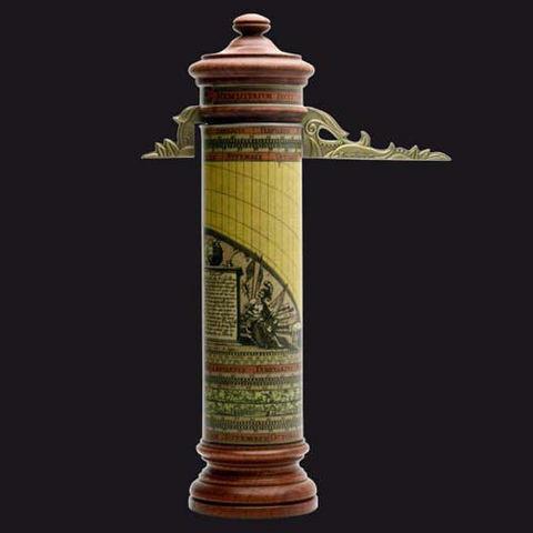 HEMISFERIUM - Horloge d'extérieur-HEMISFERIUM-Horloge cylindrique