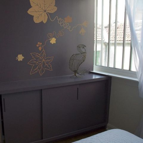 Walldesign - Sticker-Walldesign-Fil de Feuilles