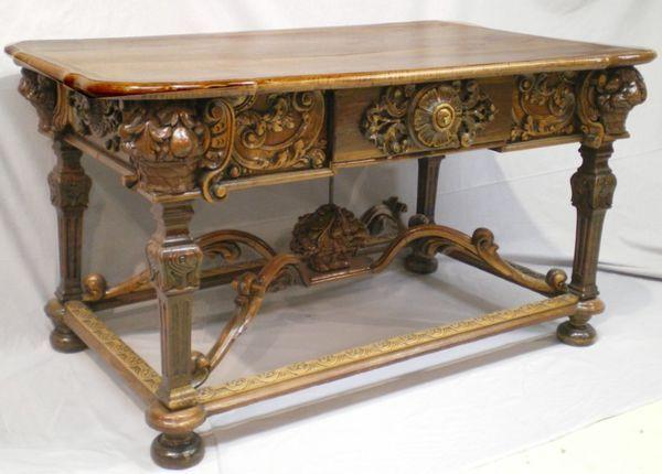 Galerie Schmit - Table à gibier-Galerie Schmit-Table bureau
