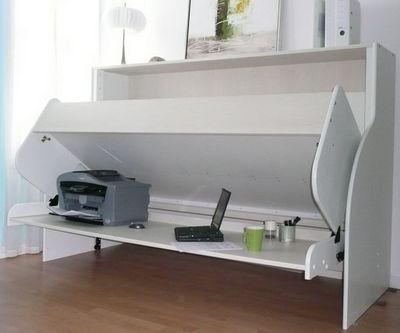 Combin� Lit / Bureau - Lit escamotable-Combin� Lit / Bureau-single