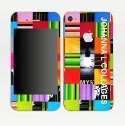 JOHANNA L COLLAGES - Coque de téléphone portable-JOHANNA L COLLAGES-Skins IPhone 4 Inside light