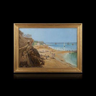 Expertissim - Paysage-Expertissim-Paul Joseph BARIAN. Saint- Malo