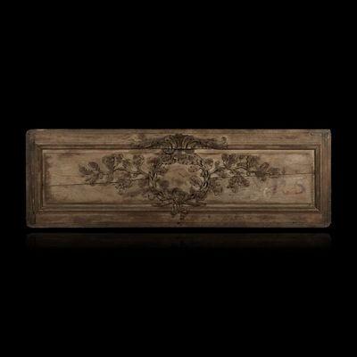 Expertissim - Panneau décoratif-Expertissim-Elément de boiserie en chêne