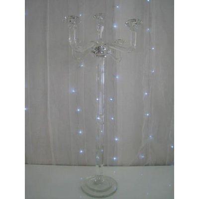 DECO PRIVE - Chandelier-DECO PRIVE-Chandelier a 5 branches en cristal grand modele