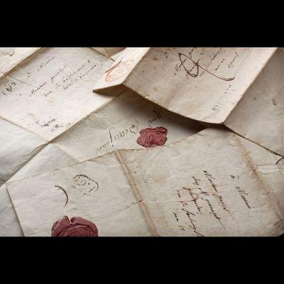 Expertissim - Manuscrit-Expertissim-Billets du comte de Lacépède