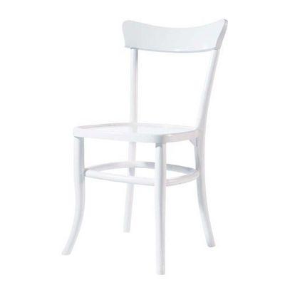MAISONS DU MONDE - Chaise-MAISONS DU MONDE-Chaise blanche Bistrot