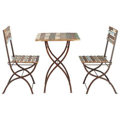 Maisons du monde - Chaise-Maisons du monde-Set Table + 2 Chaises Collioure