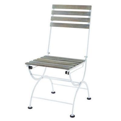 Maisons du monde - Chaise de jardin-Maisons du monde-Chaise blanche Garden Party