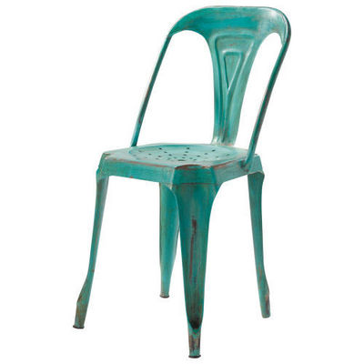 Maisons du monde - Chaise de jardin-Maisons du monde-Chaise verte Multipl's