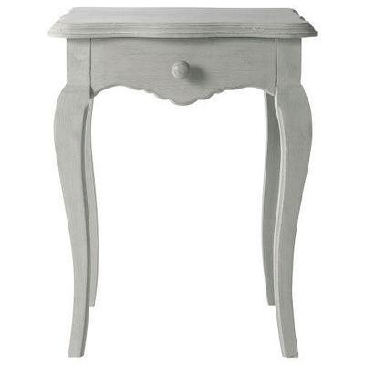 Maisons du monde - Table de chevet-Maisons du monde-Chevet gris Honoré