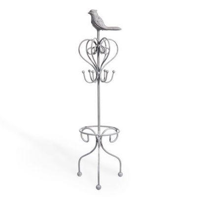 Maisons du monde - Coffret à bijoux-Maisons du monde-Porte bijoux Oiseau gris