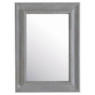 Maisons du monde - Miroir-Maisons du monde-Miroir Léonore gris 65x90