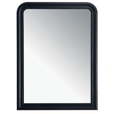 Maisons du monde - Miroir-Maisons du monde-Miroir Louis noir 90x120
