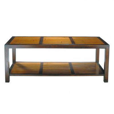 Maisons du monde - Table basse rectangulaire-Maisons du monde-Table Basse rectangle Bamboo
