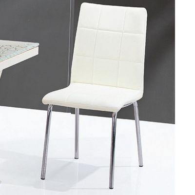 CLEAR SEAT - Chaise-CLEAR SEAT-Chaises Crème Calice lot de 4