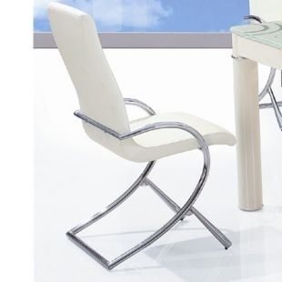 CLEAR SEAT - Chaise-CLEAR SEAT-Chaises Boreal Blanches lot de 4