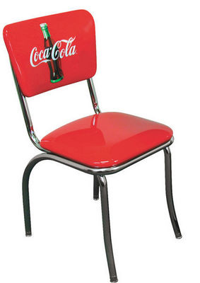 US Connection - Chaise-US Connection-Chaise de Diner Coca Cola