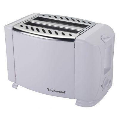 TECHWOOD - Toaster-TECHWOOD-Grille pain Blanc design