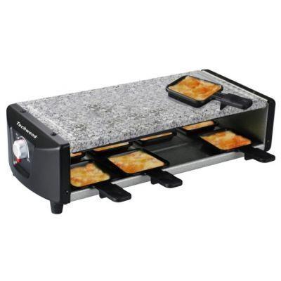 TECHWOOD - Appareil à raclette électrique-TECHWOOD-Raclette et pierre de cuisson