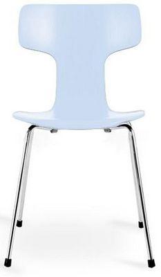 Arne Jacobsen - Chaise-Arne Jacobsen-Chaise 3103 Arne Jacobsen Bleu Lot de 4