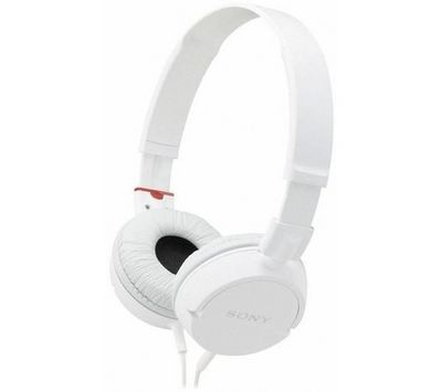 SONY - Casque-SONY-Casque MDR-ZX100 - blanc