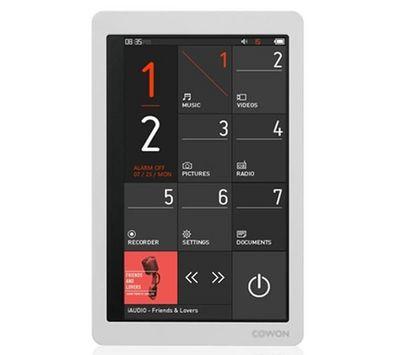 COWON - MP3-COWON-X9 - 16 Go - blanc - Lecteur MP4