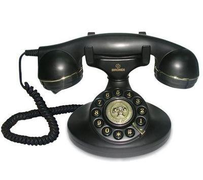 BRONDI - Téléphone-BRONDI-Tlphone Vintage 10 - noir