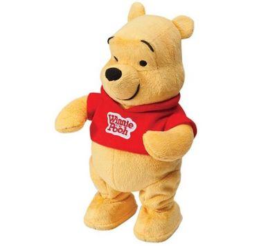 Tomy France - Peluche-Tomy France-Winnie l'ourson - Danse avec Winnie