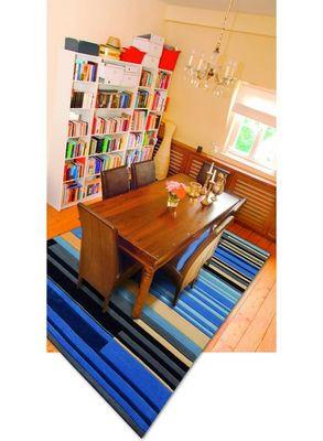 Arte Espina - Tapis contemporain-Arte Espina-Tapis de chambre COLOUR CODES bleu 120x180 en Acry