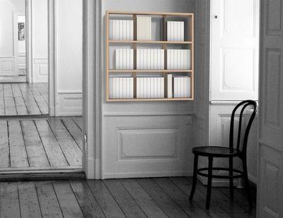MALHERBE EDITION - Bibliothèque modulable-MALHERBE EDITION-Etagère murale Wall Book