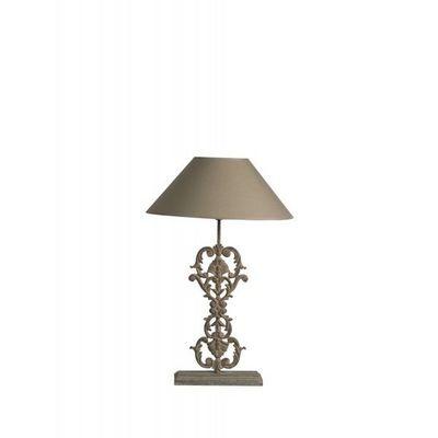 BLANC D'IVOIRE - Pied de lampe-BLANC D'IVOIRE-AMANDINE