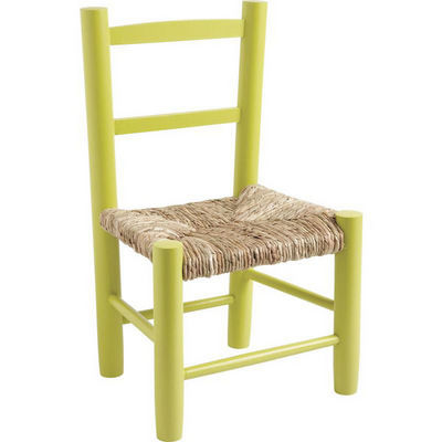Aubry-Gaspard - Chaise enfant-Aubry-Gaspard-Petite chaise bois pour enfant Anis