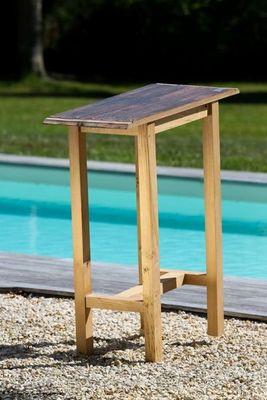 DOUELLES AND DESIGN - Table d'appoint de jardin-DOUELLES AND DESIGN-pont bateau
