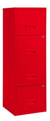 PIERRE HENRY - Classeur à tiroirs-PIERRE HENRY-Colonne de rangement tiroirs en métal