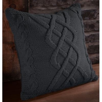 TODAY - Coussin carré-TODAY-Coussin Tricot canon de fusil
